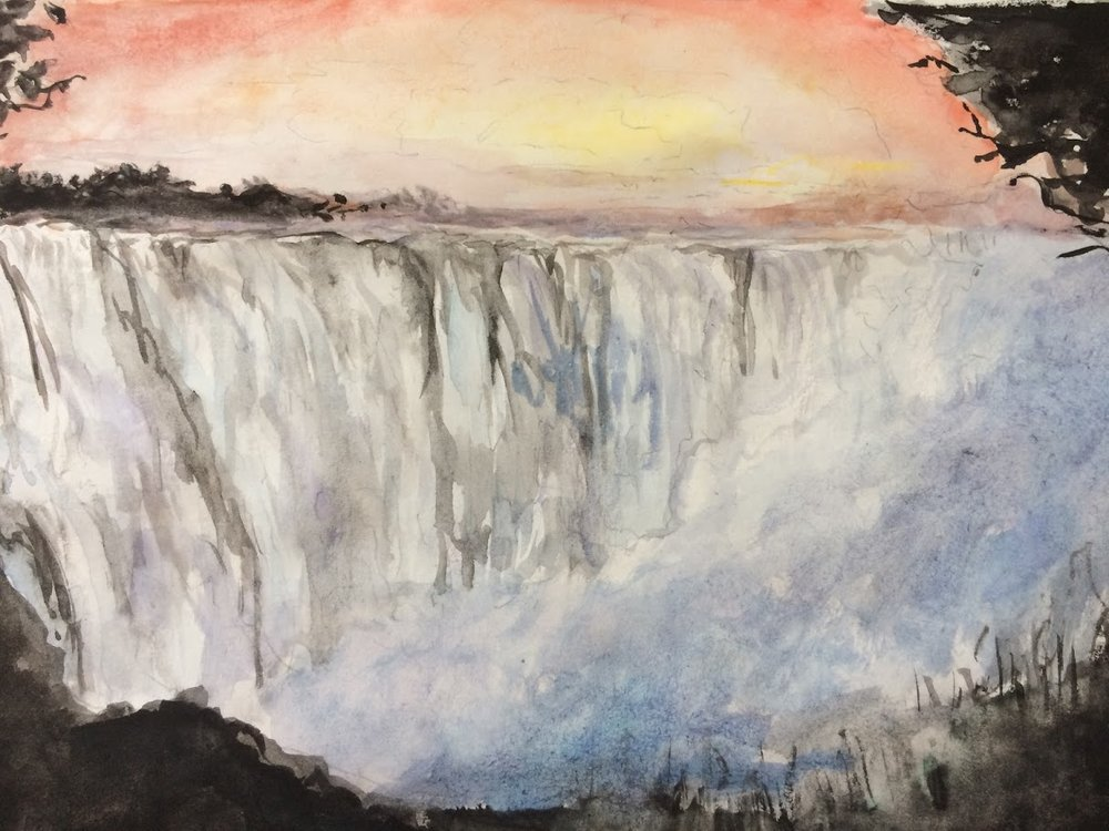 victoria falls water color.jpg