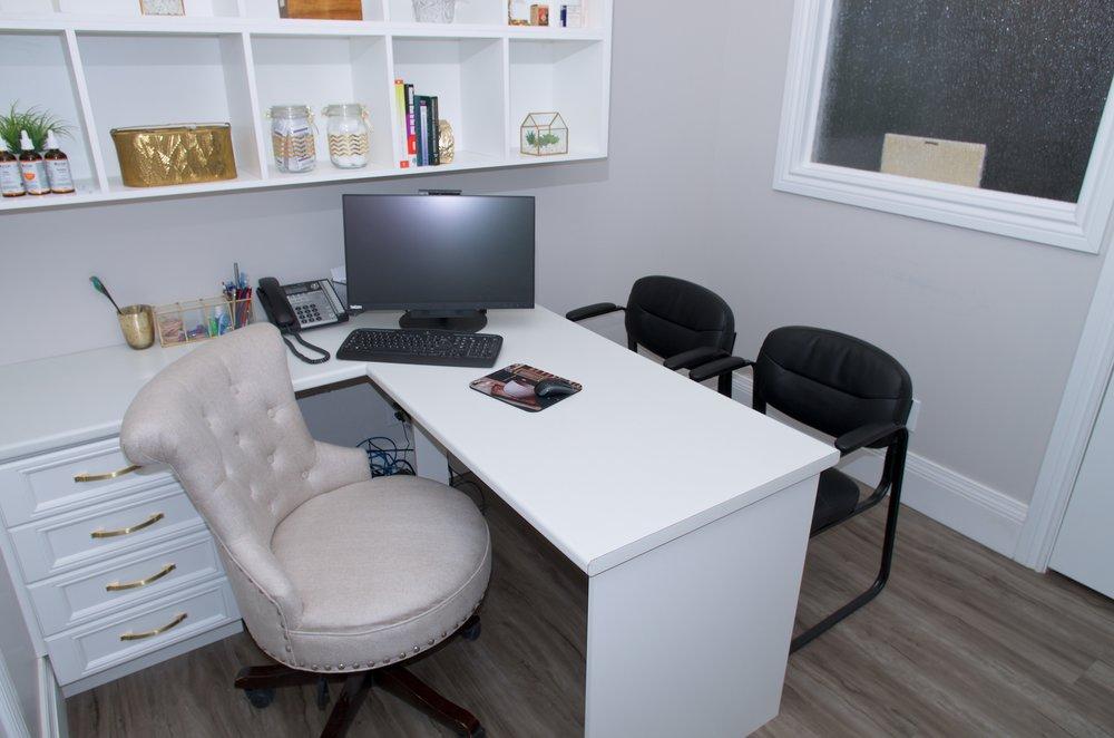 Private consultation office