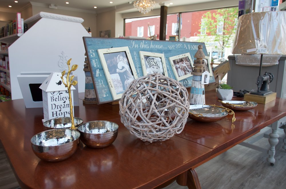 Wide selection of giftware