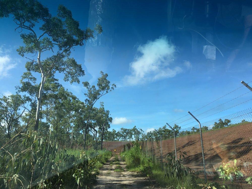 Angurugu community meets mining fence