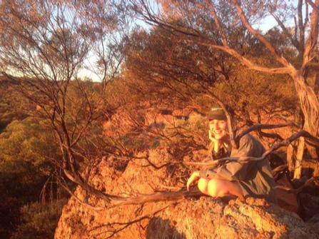 Ellie at Idalia National Park - Queensland