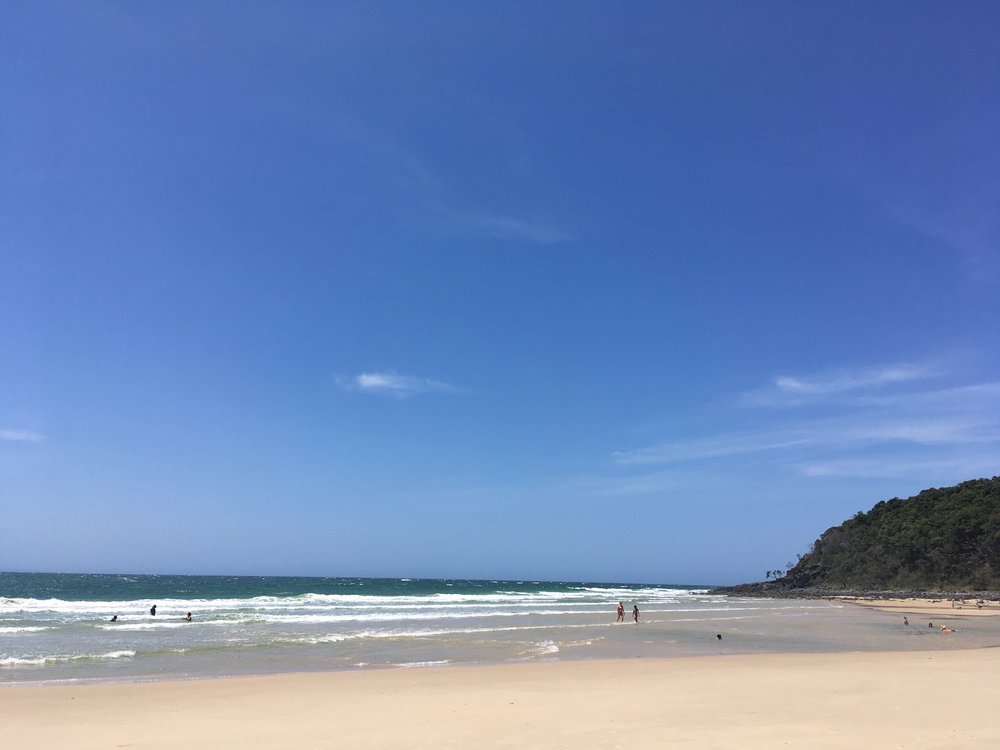 Photo: The beach at Tea Tree Bay, Noosa Headland National Park.