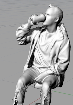 3D scan at the RISD Nature Lab