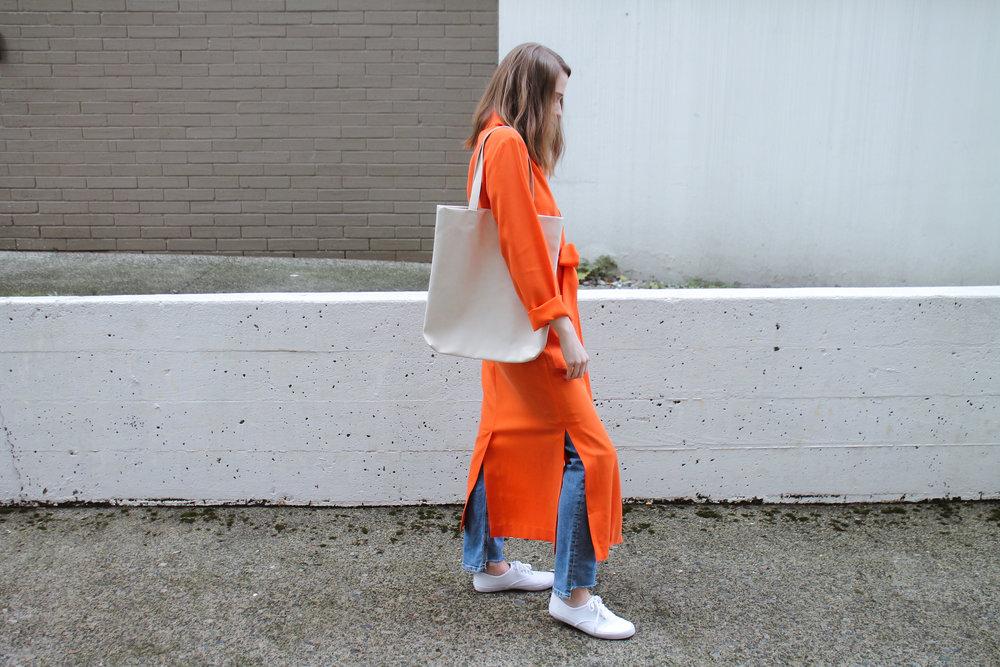 The Weave by Pamela Churchill Orange Asos Kimono 2