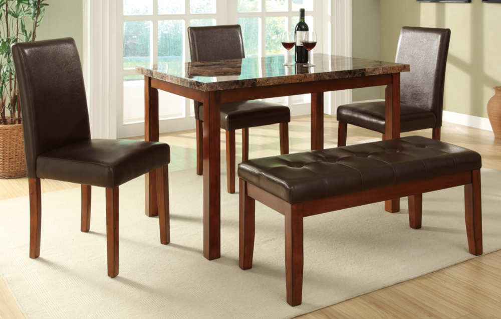 Captivating 5 PCS DINING TABLE SET