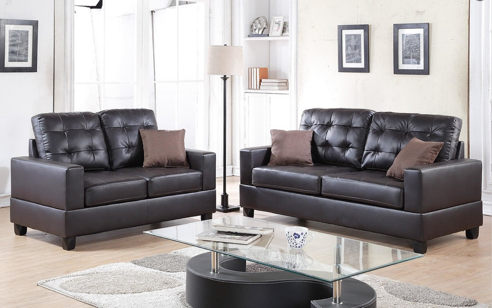 2 Pcs Sofa Set