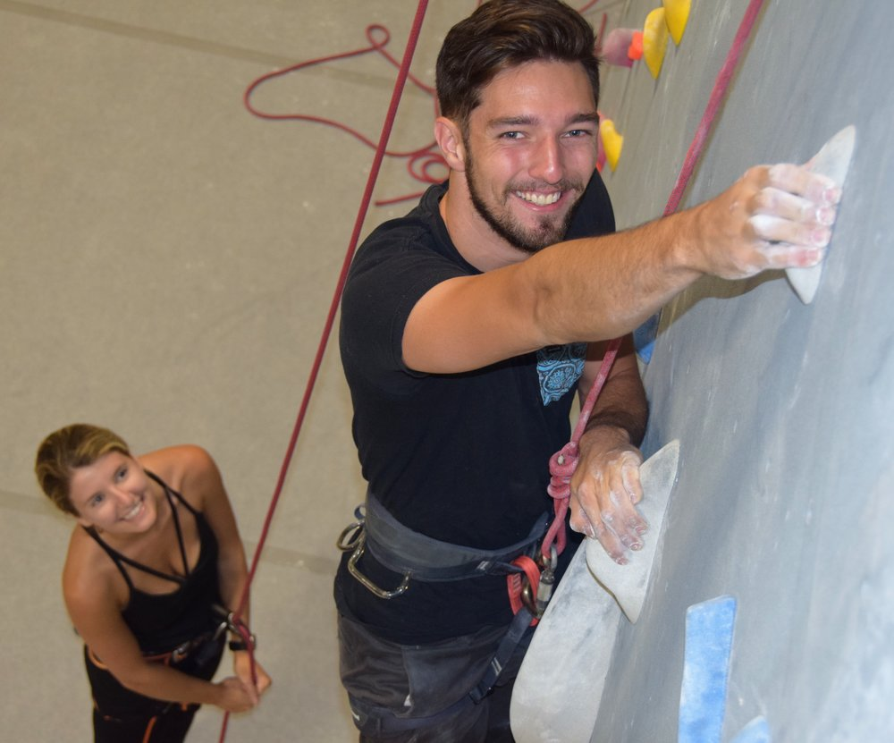 Triangle Rock Club RVA - RVAx Members use promo code RVAX will get them 50% off and a two week climbing pass to follow.