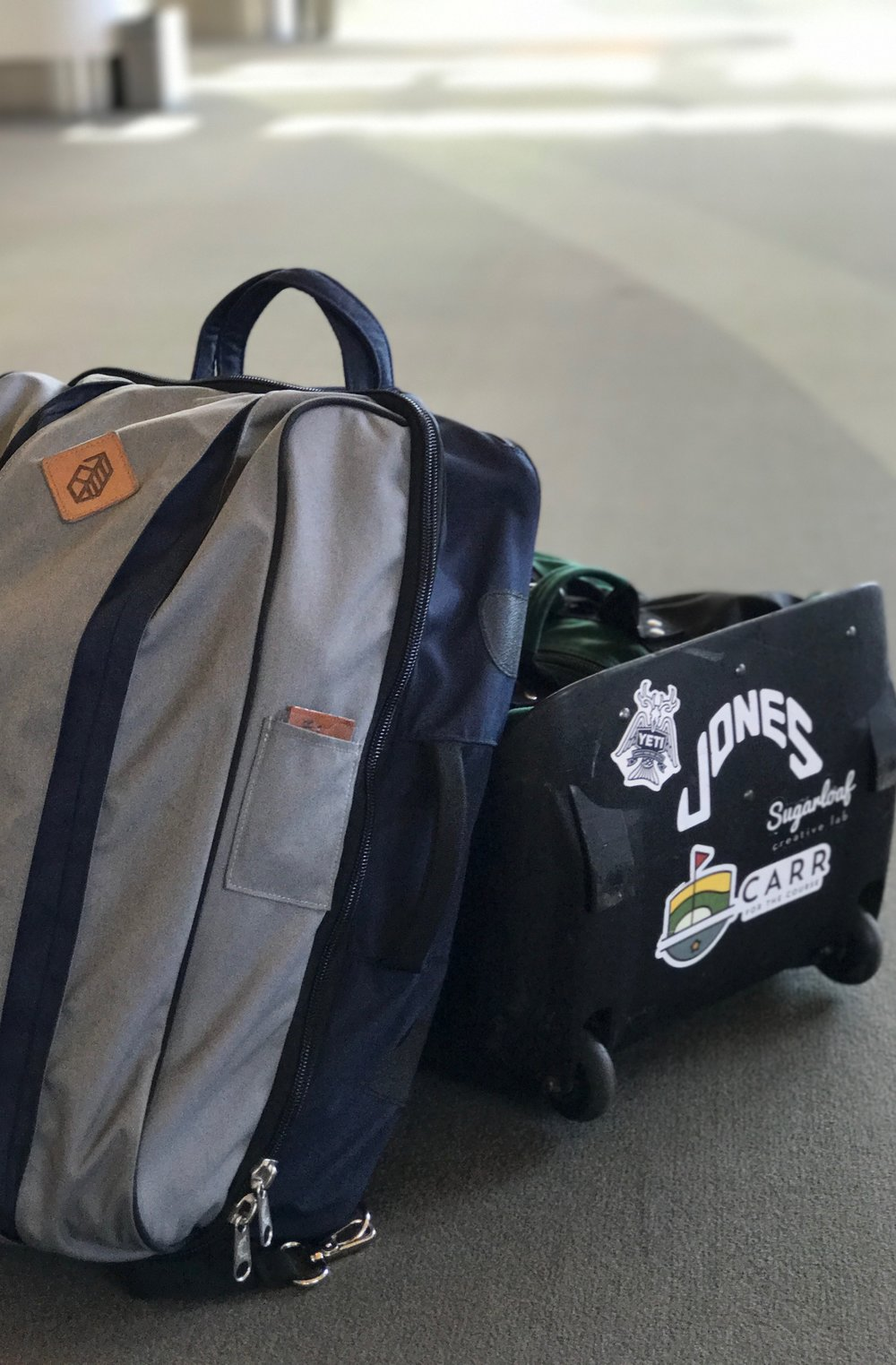 Have clubs, will travel with the Jones Weekender.