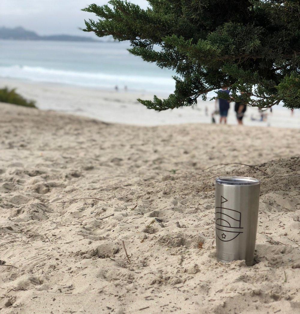 Carmel Beach for the Course
