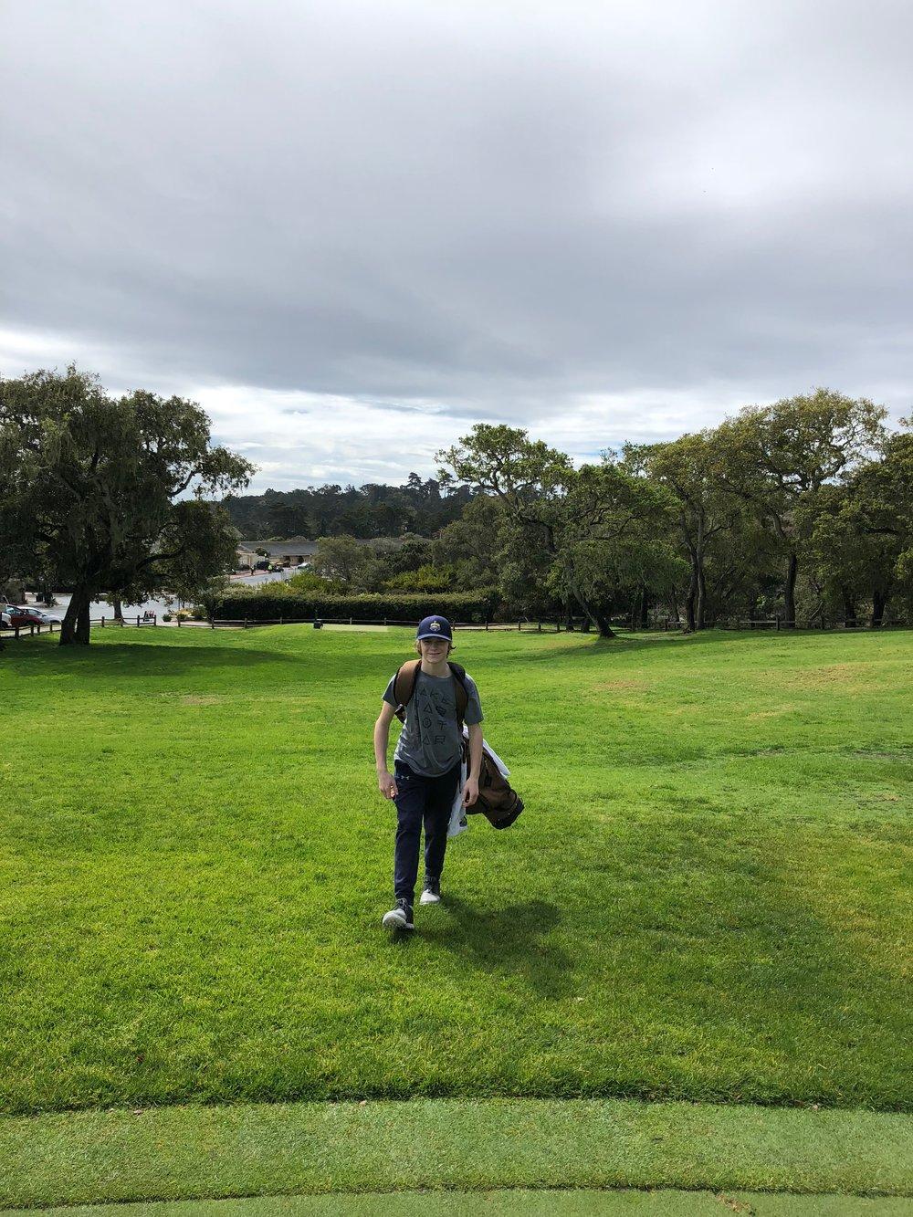 Enjoying the walk