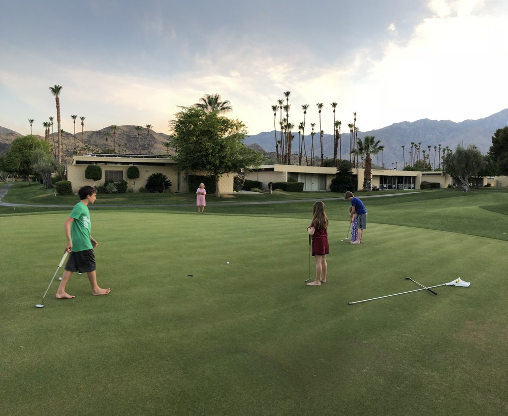 Golf With Your Kids