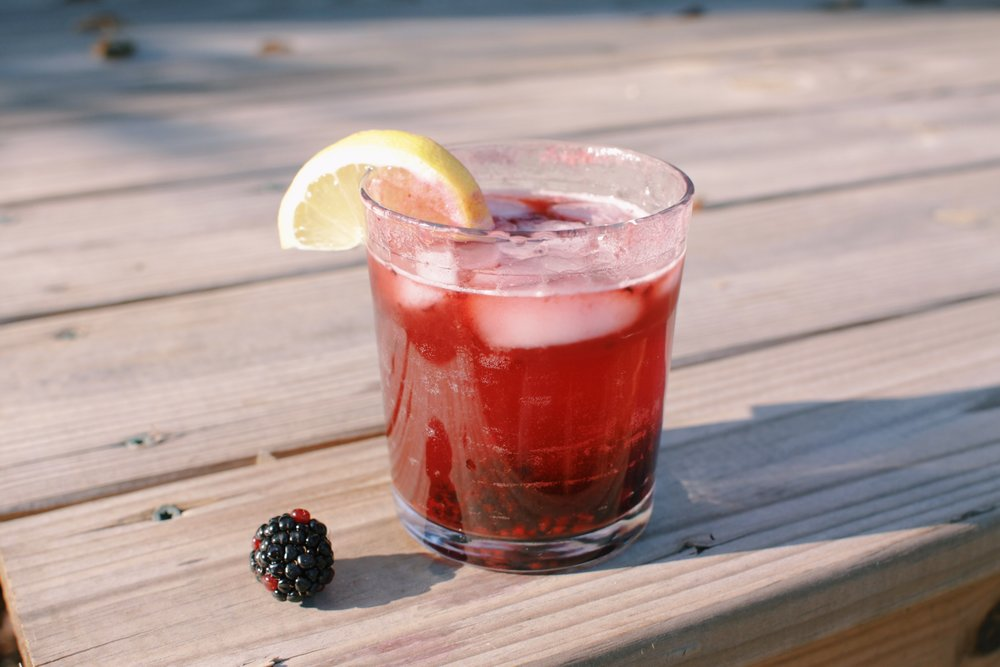 Ant Farm Journal  Southern Blackberry Tonic  Recipe by Heath Vester