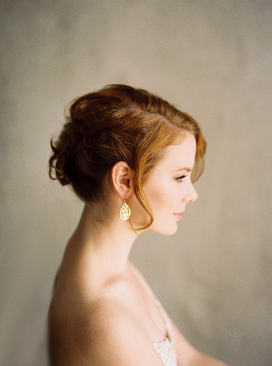 Bridal Updo Hair and Make up Inspiration | by Lara Lam Photography