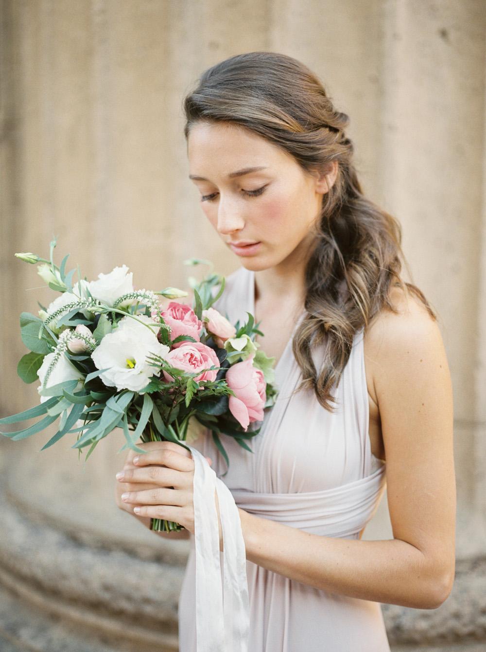 Romantic bridesmaid hair and makeup inspiration   | by Lara Lam photography