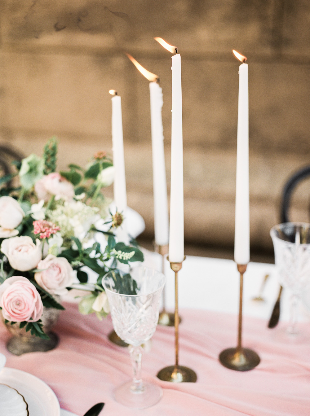 Pink and blush wedding inspiration  | by Lara Lam photography