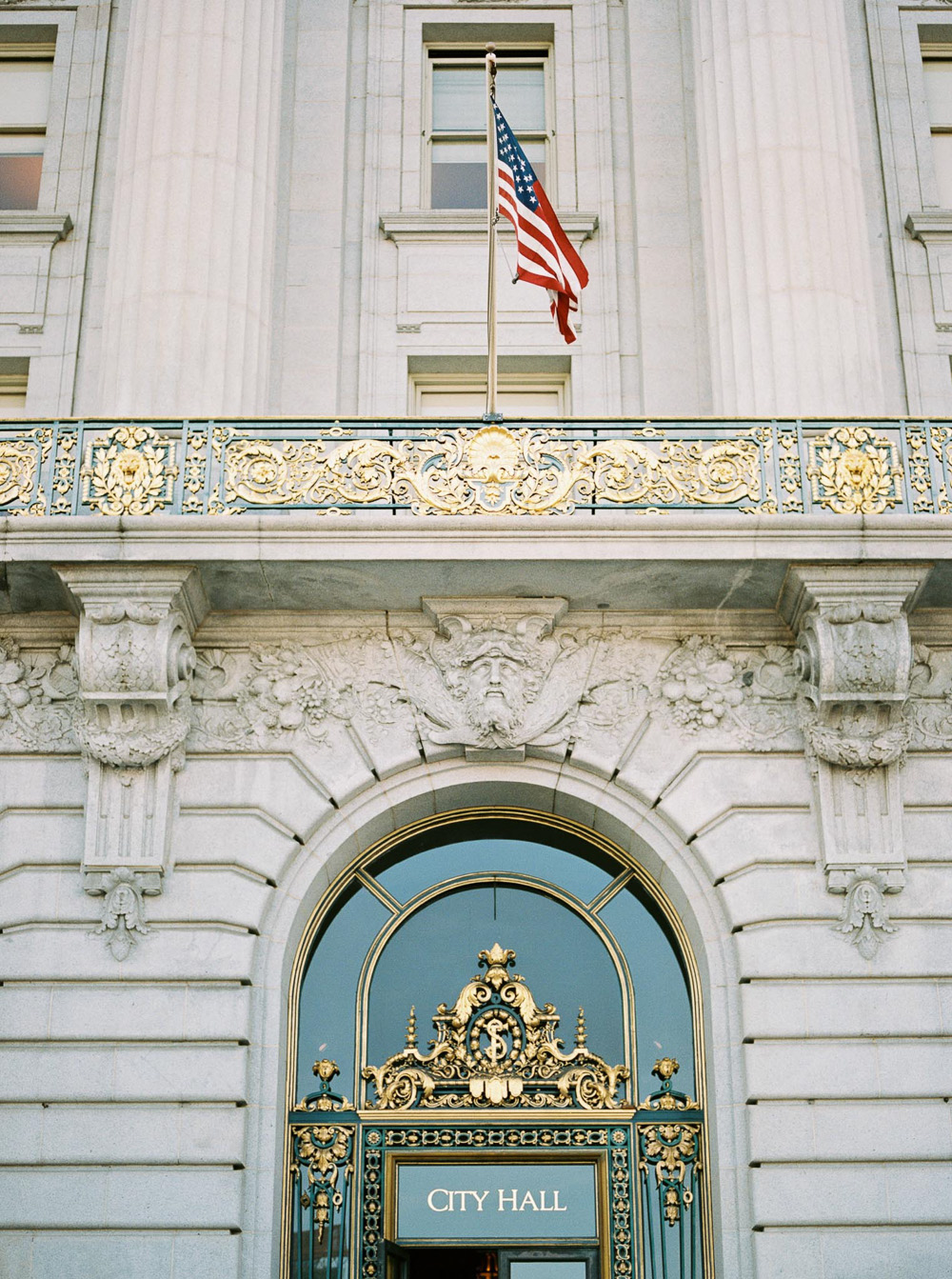san francisco city hall wedding idea | California wedding photography by Lara Lam
