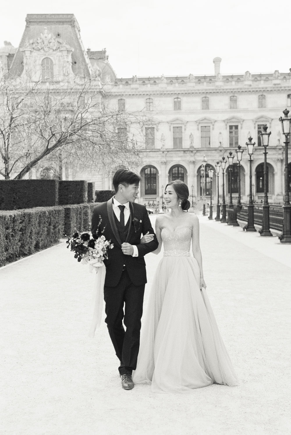 paris pre-wedding photo overseas wedding