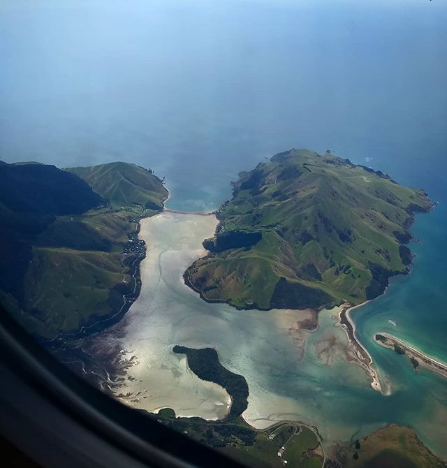 I never get tired of flying into #nelsonnz