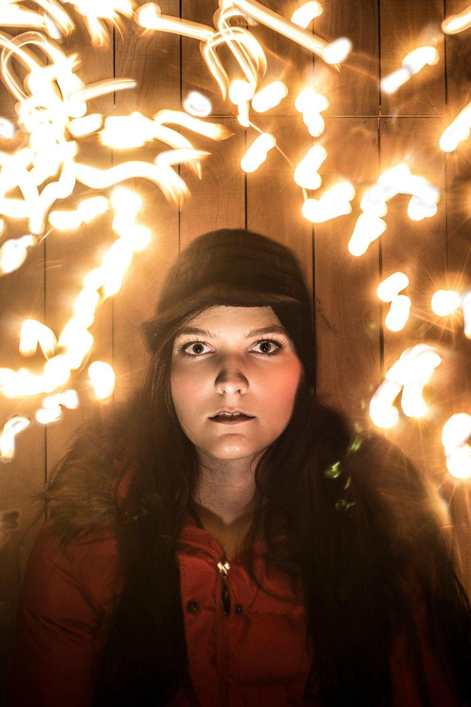 Darkest Night At The Gnarly Stump-  Amanda