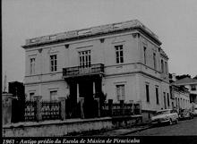 Figure 2:  Escola de Música de  Piracicaba (1961)