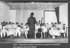 Figure 3: First Children's Orchestra (1955)