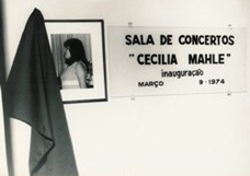 Figure 5: Cecilia Mahle's Recital Hall (1974)