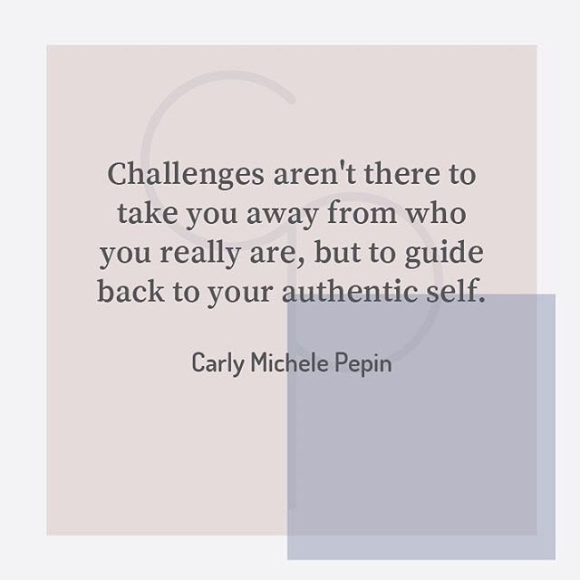 Every challenge we experience is there to assist us in getting back into our most authentic selves – to align us with our own personal mission, vision and purpose. Sometimes we know we are off track and can see that the challenge will get us back in line. Sometimes we can't even tell that we are completely off on one and in those moments the challenges are harder to understand.  One of the keys to life is to address and understand those challenges. The ones we understand and uncover the root cause of – those are the ones we can transcend. The ones we continue to misunderstand, that we frustrate over and try to avoid – those are the very ones that return to us in cycles over and over again until we get the message, transform it and move on.  A great question to ask yourself when you are in any challenge is how these particular circumstances are assisting you in accomplishing what you want in life. If you can answer that to a degree of absolute certainty that it is supporting you just as much as challenging you, you will be humbled and grateful for what you are going through, in the moment. It brings a different perspective to what you are experiencing and allows your higher mind to see new possibilities and expand its limited view.  Let me know how it goes 😉