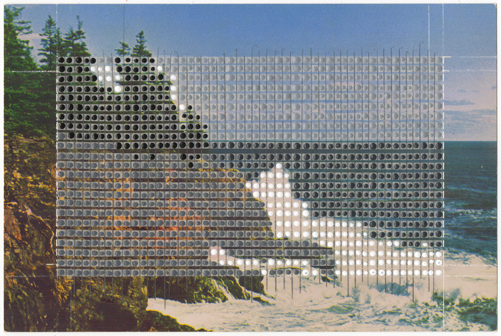 Borrowed Landscapes Study No.18/Maine, Bar Harbor