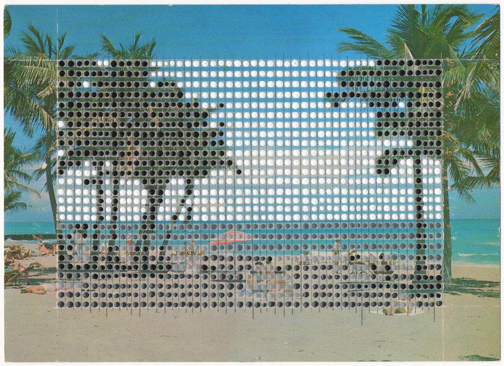 Borrowed Landscapes Study No.22/Florida, South Florida Beach