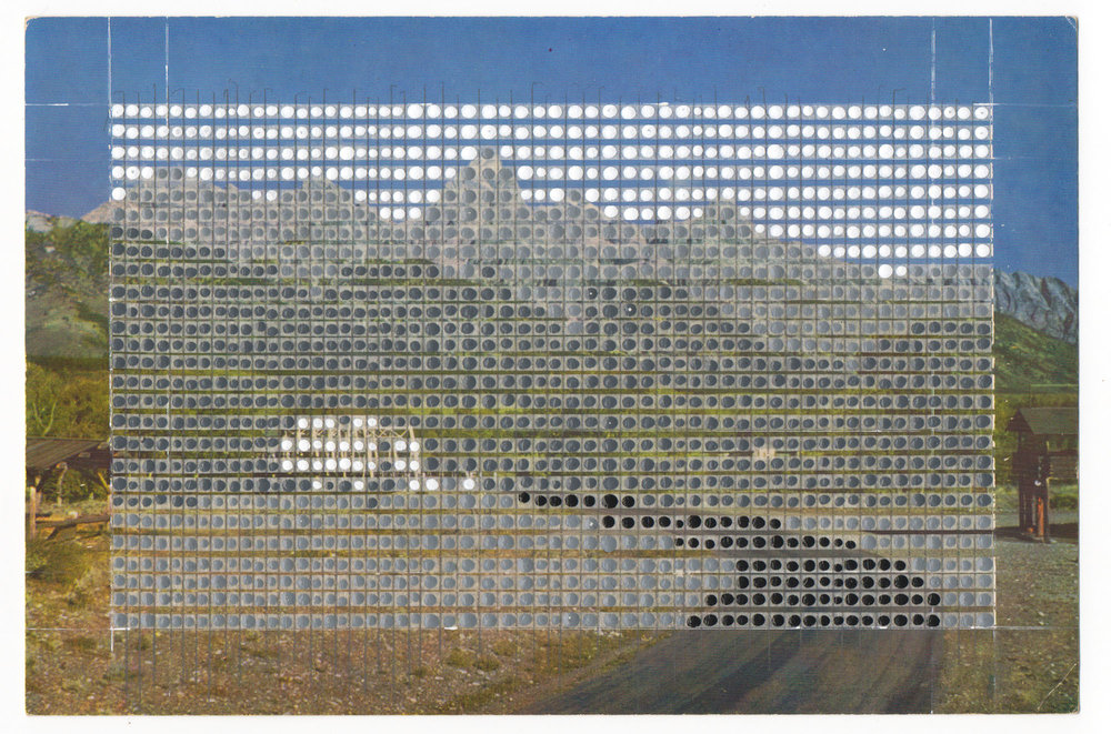 Borrowed Landscapes Study No.9/Wyoming, Jackson Hole