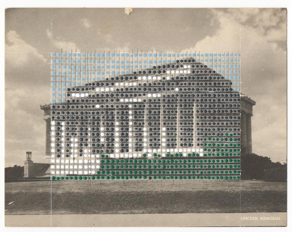 Borrowed Landscapes Study No.6/Washington DC, Lincoln Memorial