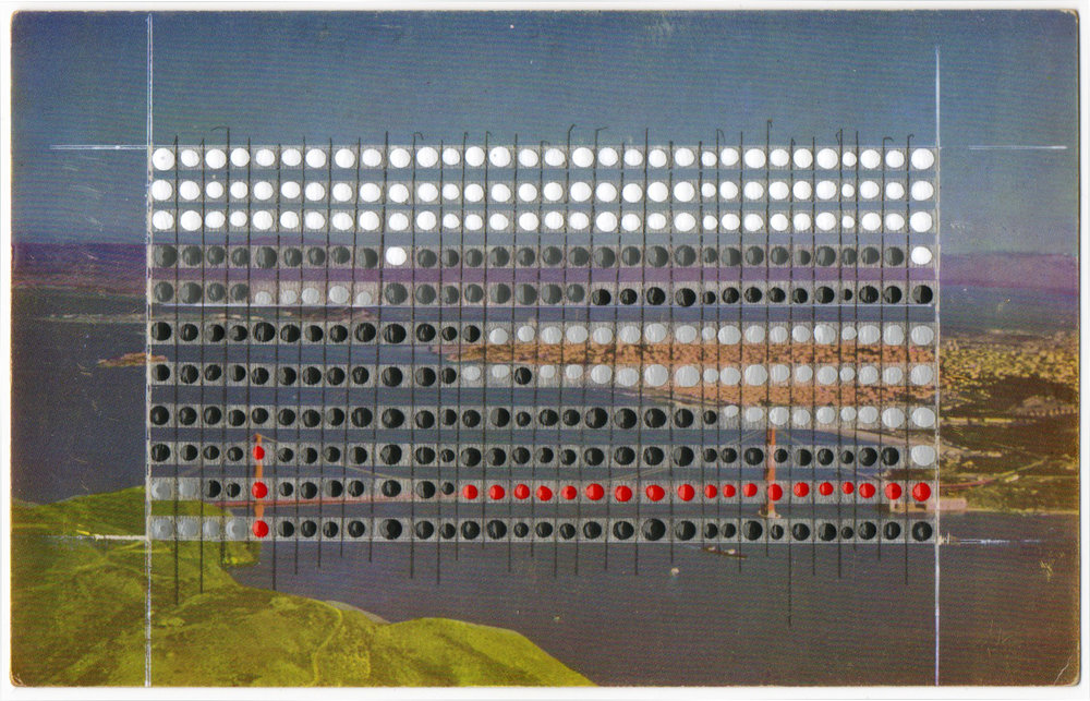 Borrowed Landscapes Study No.36/California, San Francisco Golden Gate Bridge