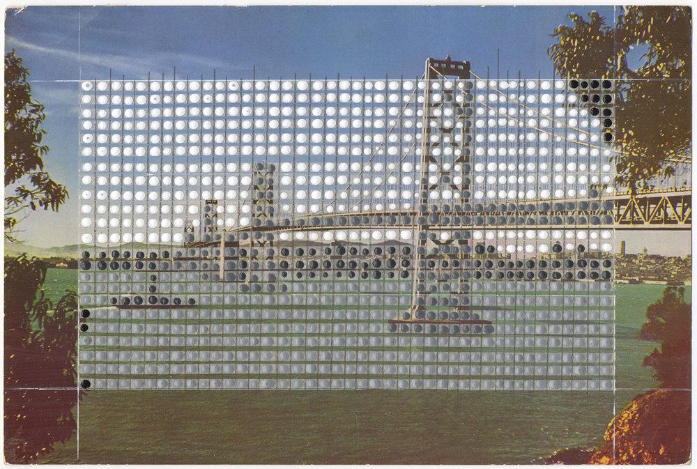 Borrowed Landscapes Study No.11/California, Oakland, Bay Bridge