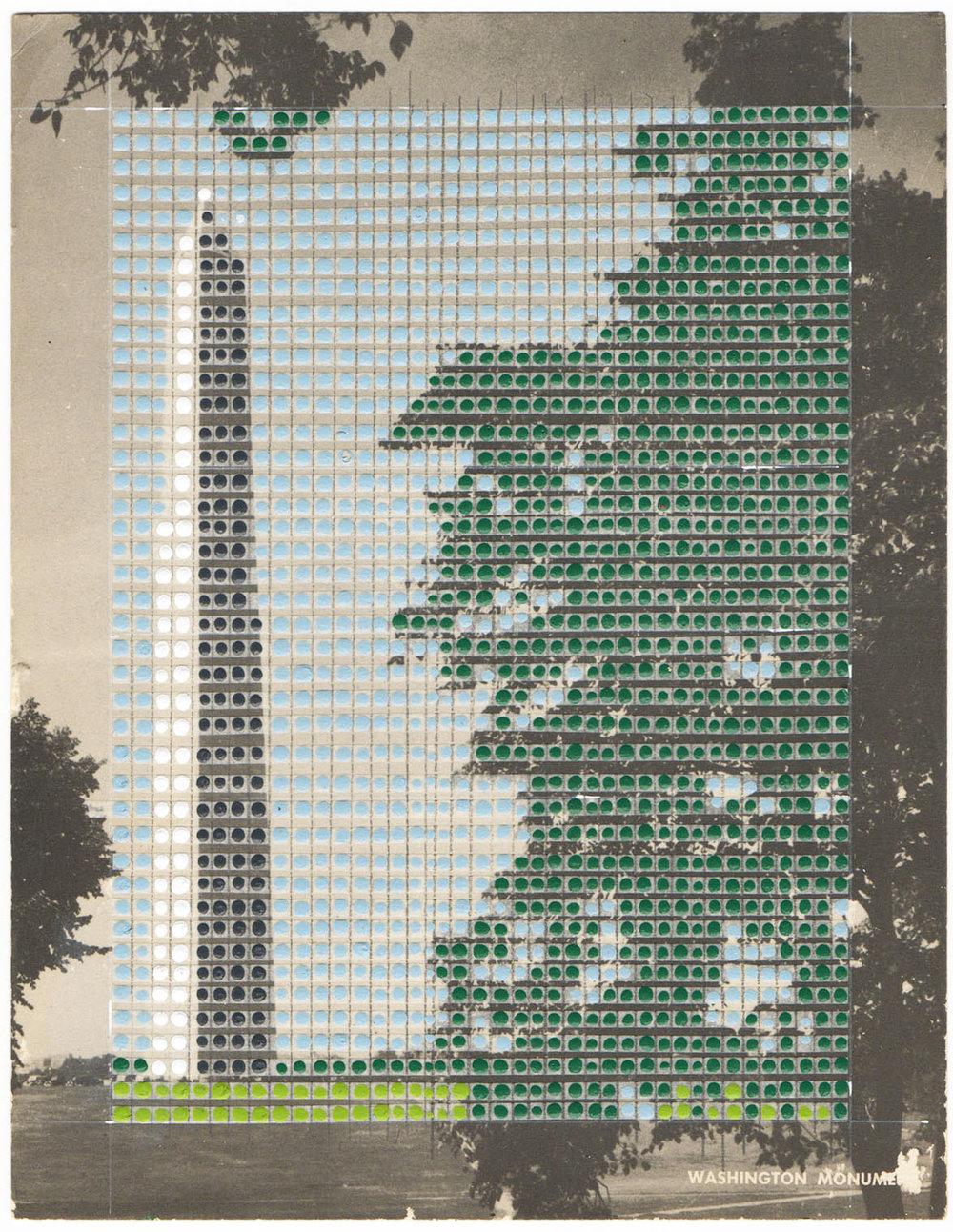 Borrowed Landscapes Study No.7/ Washington DC, Washington Monument