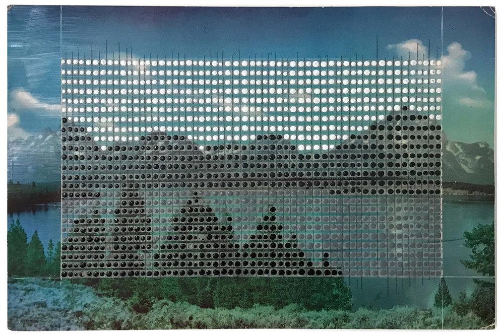 Borrowed Landscapes Study No.8/Wyoming, Jackson Lake Grand Tetons