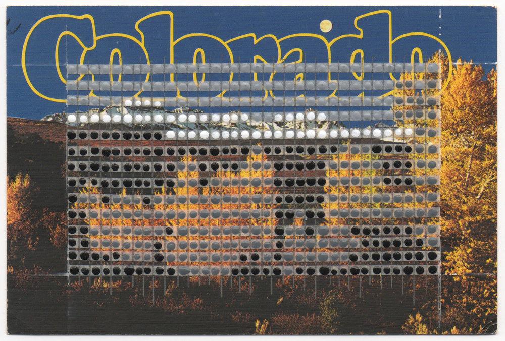Borrowed Landscapes Study No.13/Colorado, Rocky Mountains