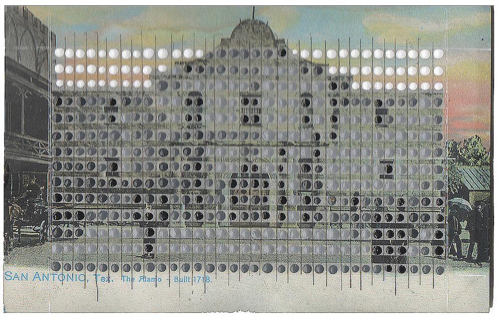 Borrowed Landscapes Study No.44/Texas, The Alamo