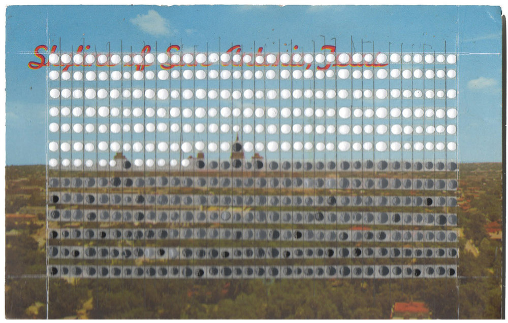 Borrowed Landscapes Study No.43/Texas, San Antonio Skyline
