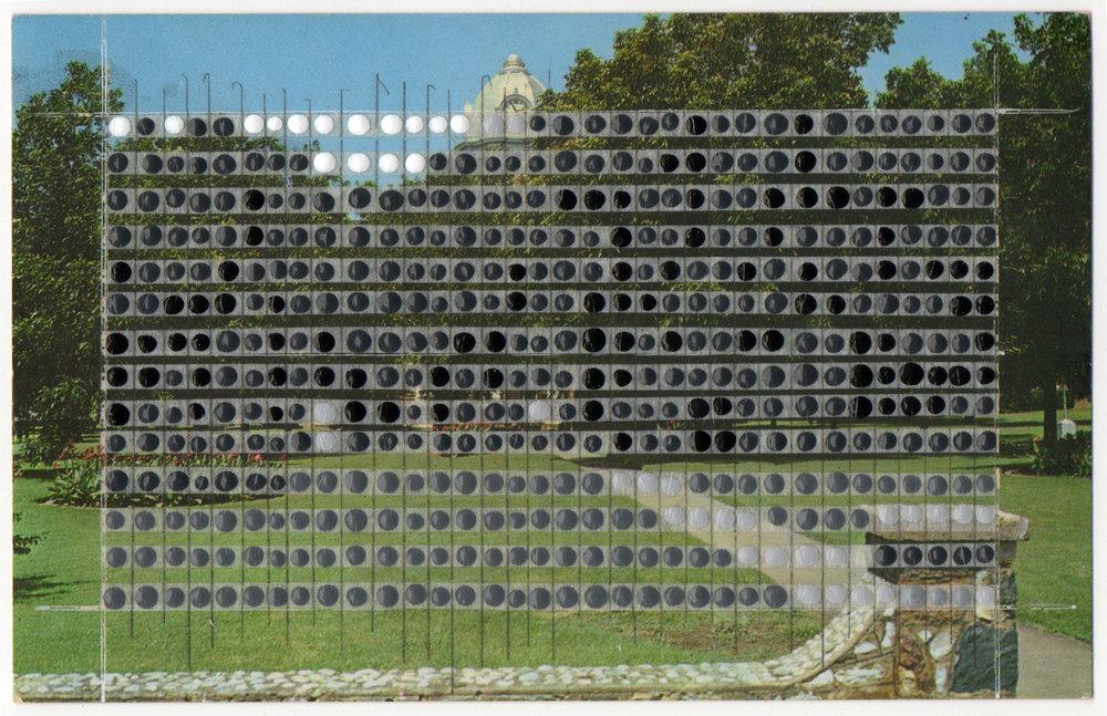 Borrowed Landscapes Study No.47/Texas, Mason County Court House