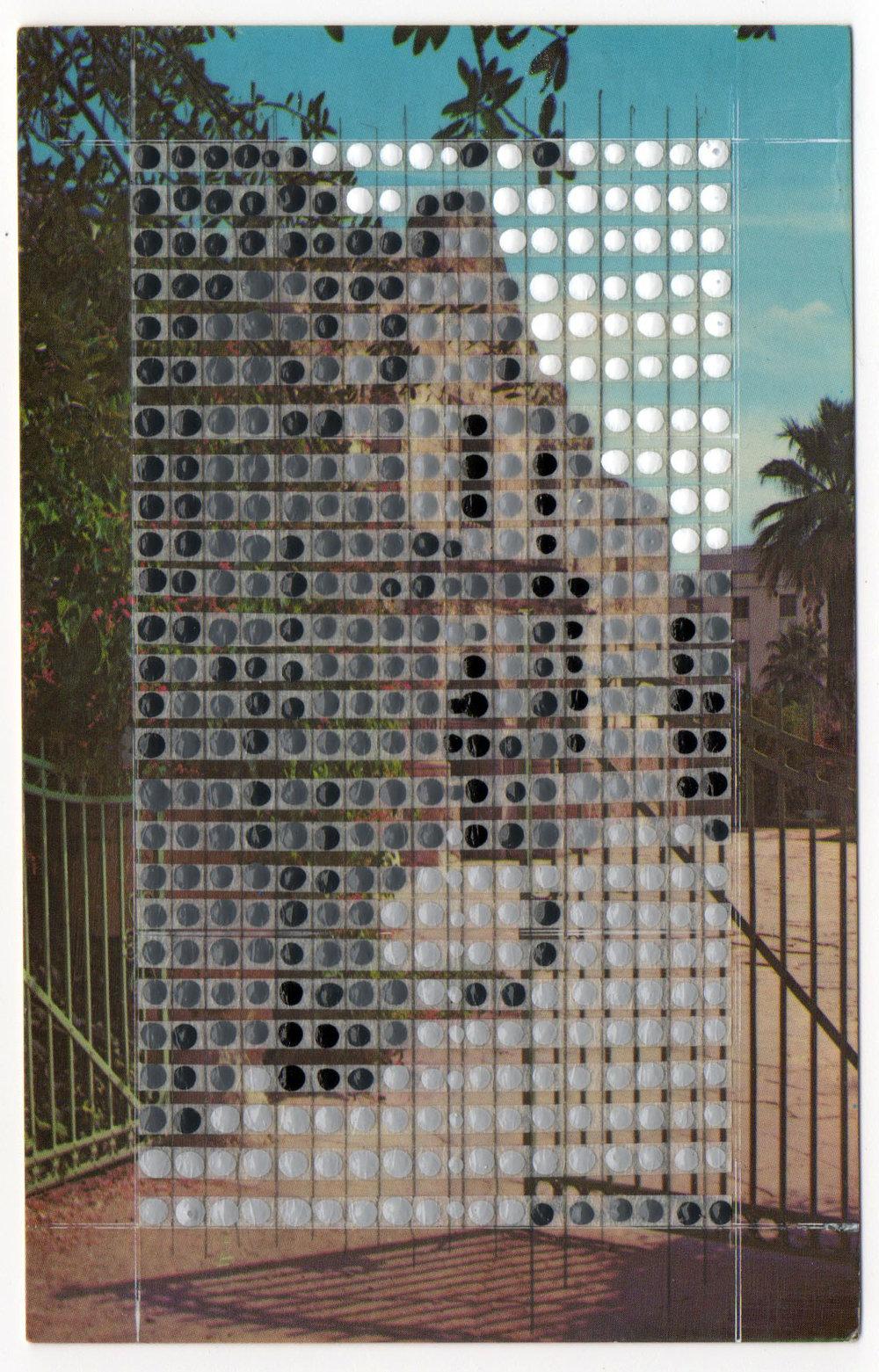 Borrowed Landscapes Study No.51/Texas, San Antonio, The Alamo