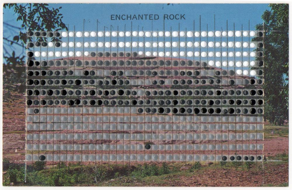 Borrowed Landscapes Study No.50/Texas, Enchanted Rock