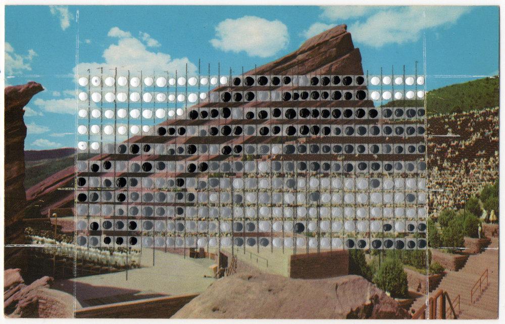 Borrowed Landscapes Study No. 52/Colorado, Red Rocks Theatre