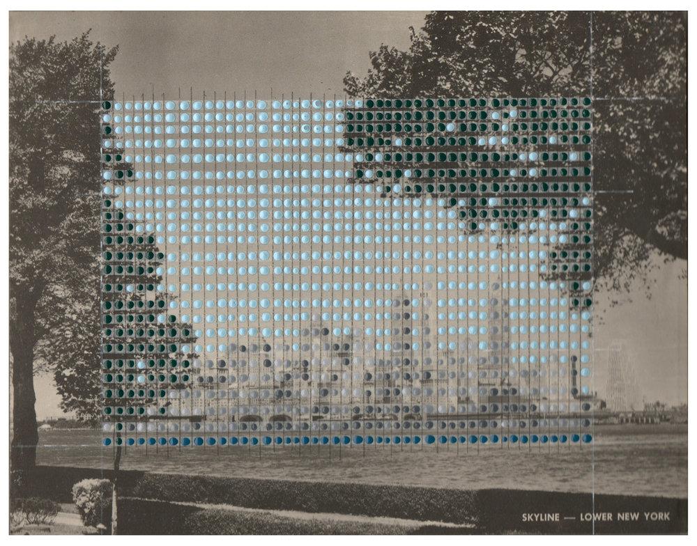 Borrowed Landscapes Study No.55/New York, Lower Manhattan Island, The Battery