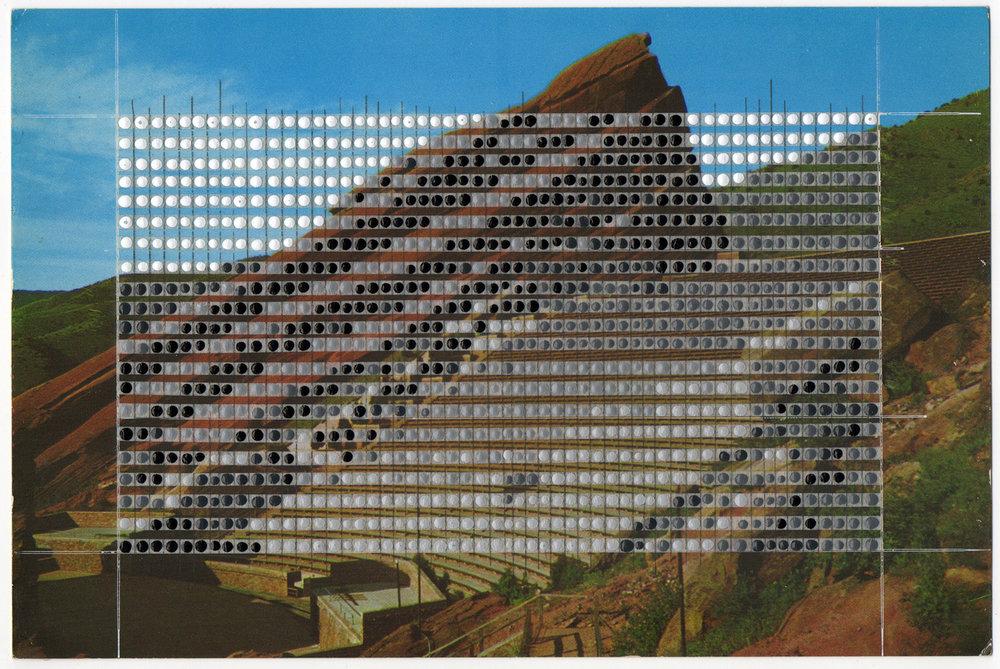 Borrowed Landscapes Study No.53/Colorado, Red Rocks Amphitheatre / Private collection