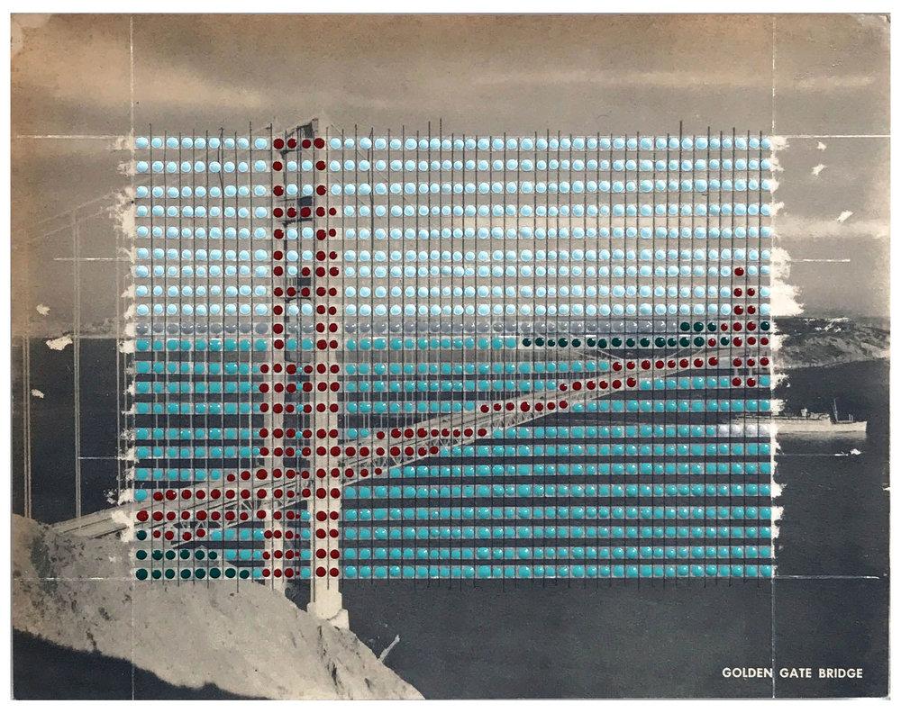 Borrowed Landscapes Study No.54/California, San Francisco Golden Gate Bridge