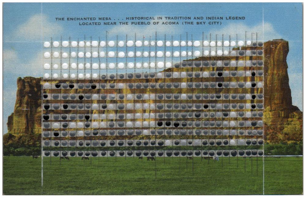 Borrowed Landscapes Study No.67/New Mexico, Enchanted Mesa, Acoma Pueblo