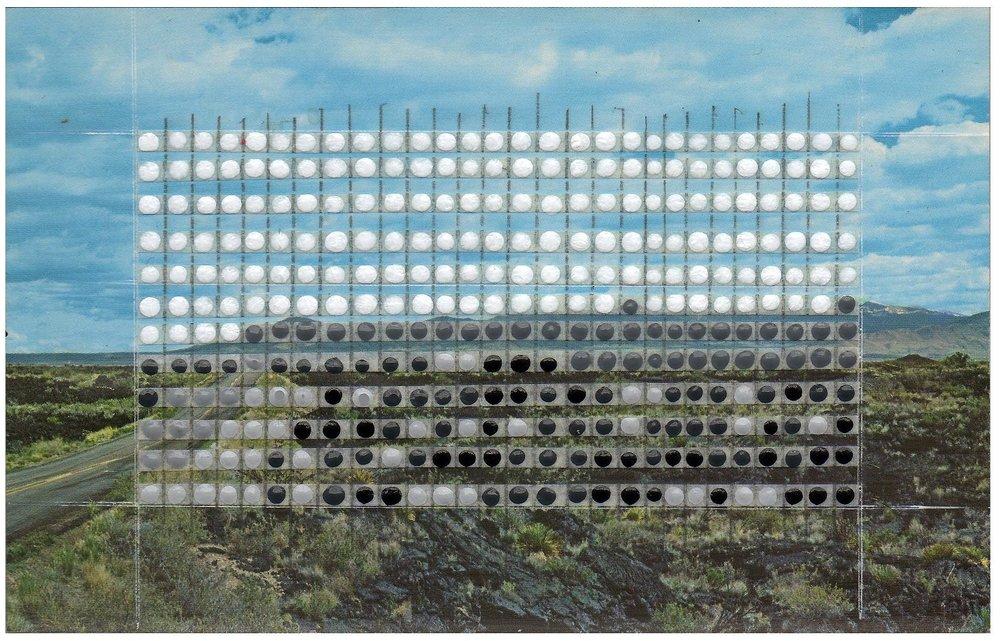 Borrowed Landscapes Study No.68/New Mexico, Carrizozo, The Malpais