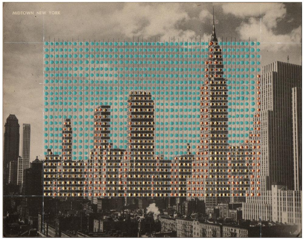Borrowed Landscapes Study No.66/New York, Midtown Manhattan