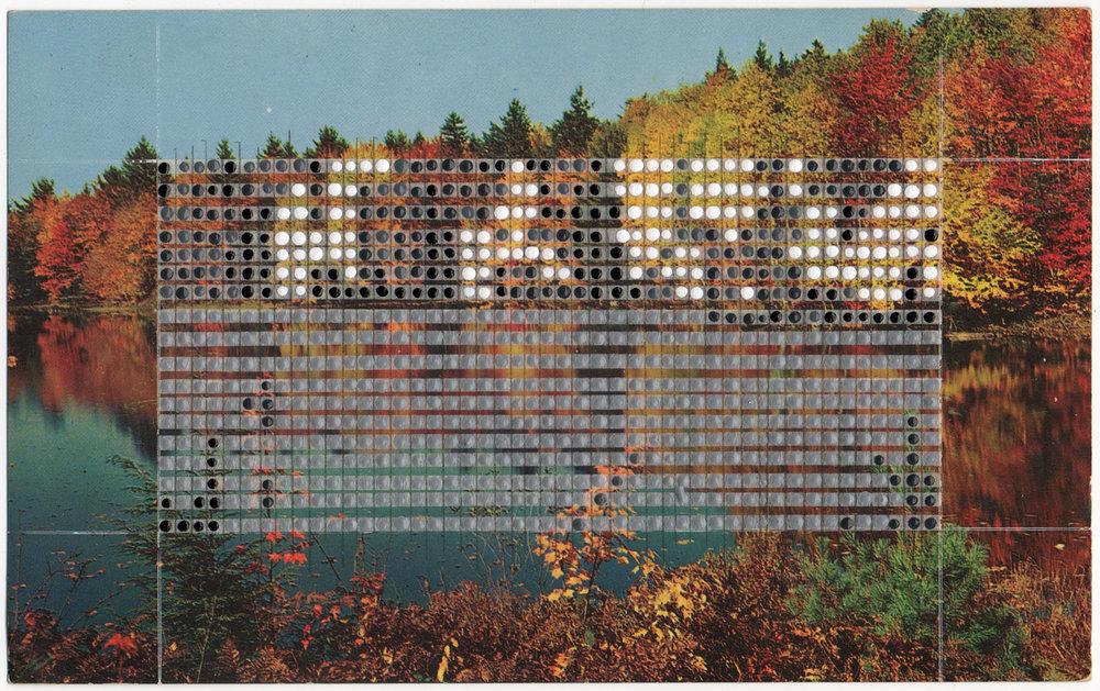 Borrowed Landscapes Study No.80/Massachusetts, Concord, Walden Pond
