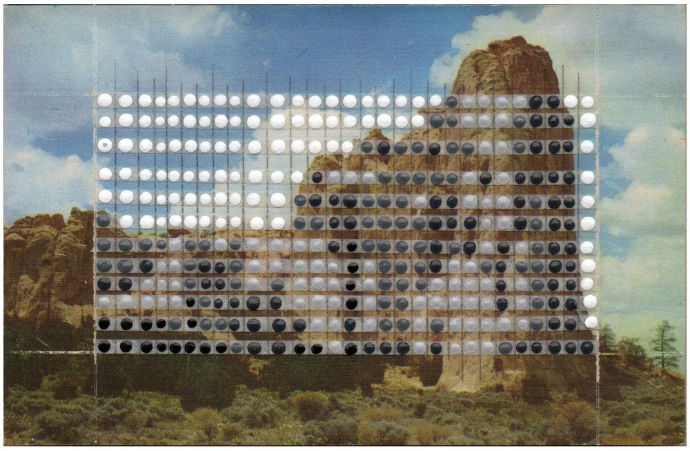 Borrowed Landscapes Study No.76/New Mexico, Gallup, El Morrow National Monument